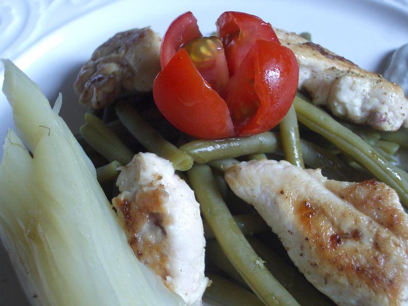 Salade de poulet et fenouil sauce au ch vre angel cake - Comment couper un fenouil ...