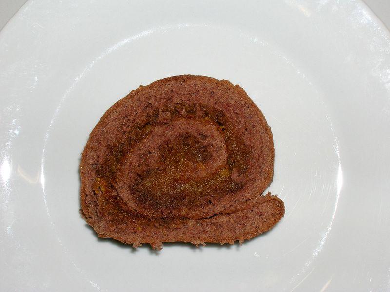 Roulé chocolat potiron