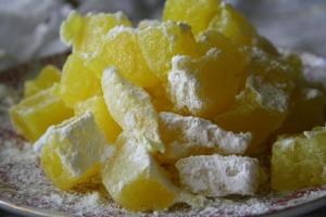 Loukoums au citron (Turkish delight)