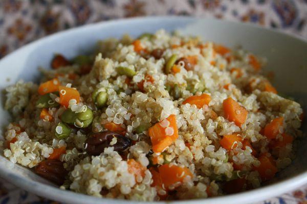 Quinoa aux légumes