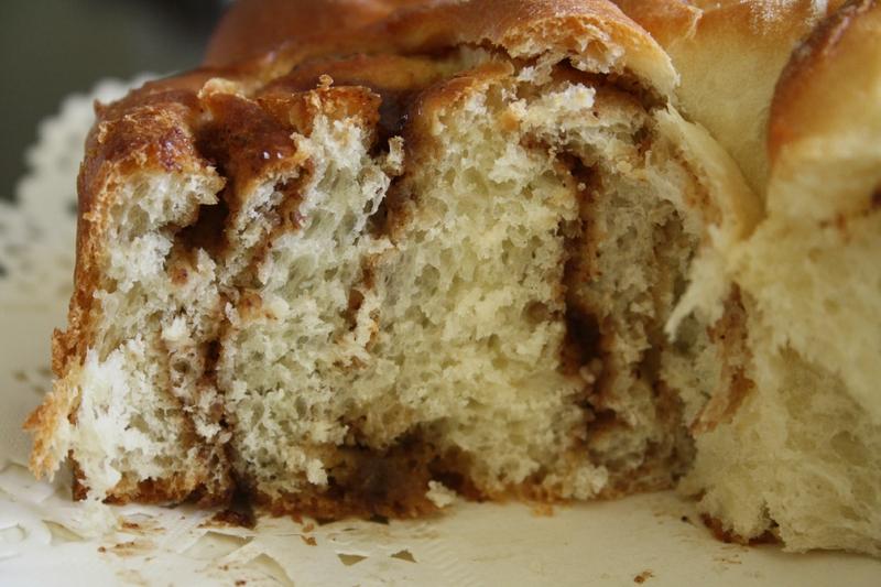 Cinnamon Buns (viennoiserie à la cannelle)