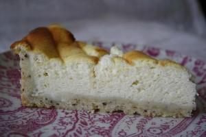 Tarte légère au fromage blanc