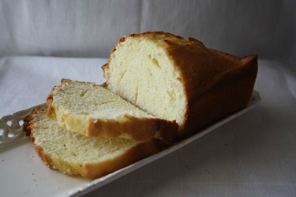 Gâteau à la peau de lait de Madeleine et Brigitte