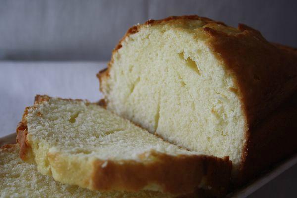 Gâteau à la peau de lait de Madeleine et Brigitte angel cake tellou.com
