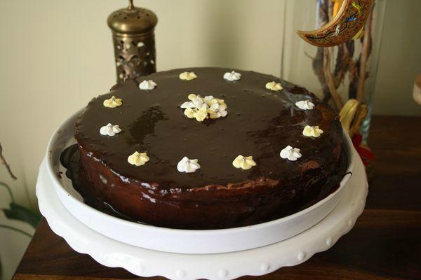 Gâteau de Pâques chocolat