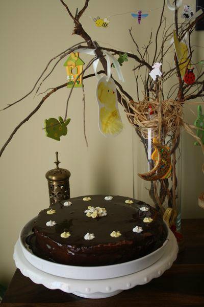 Gâteau à étages au chocolat