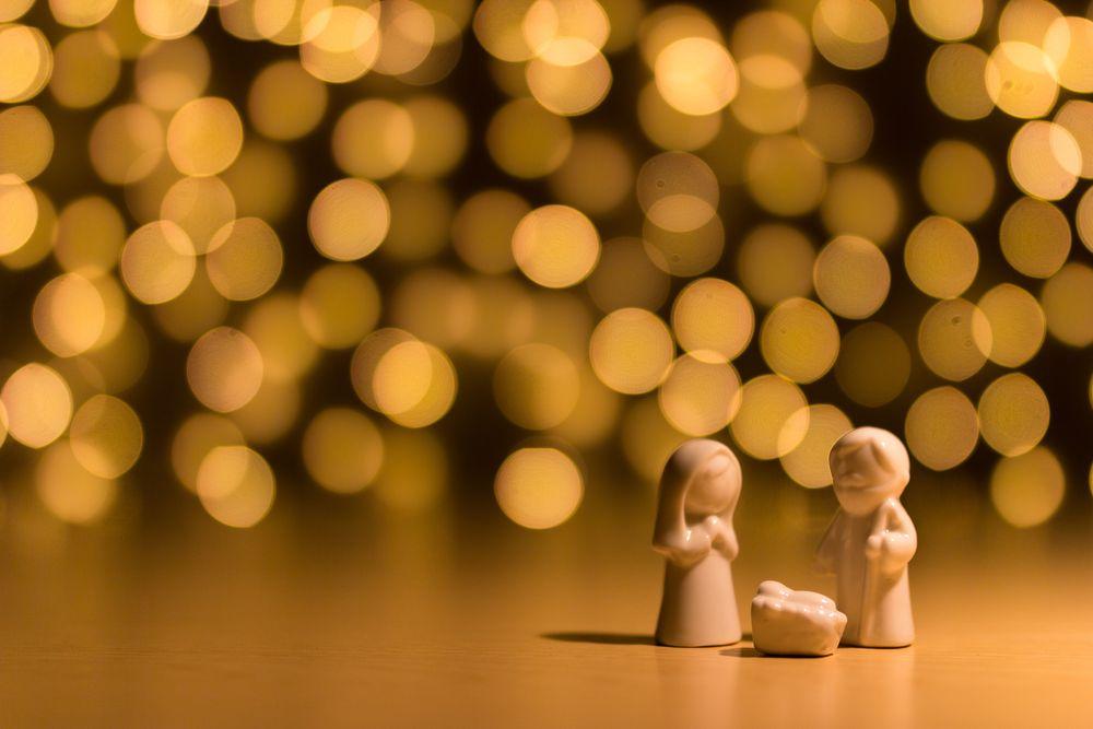 crèche Noël