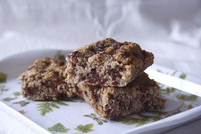 Barres de céréales aux flocons d'avoine pour les pitchounes (Organix Goodies oat bar.)