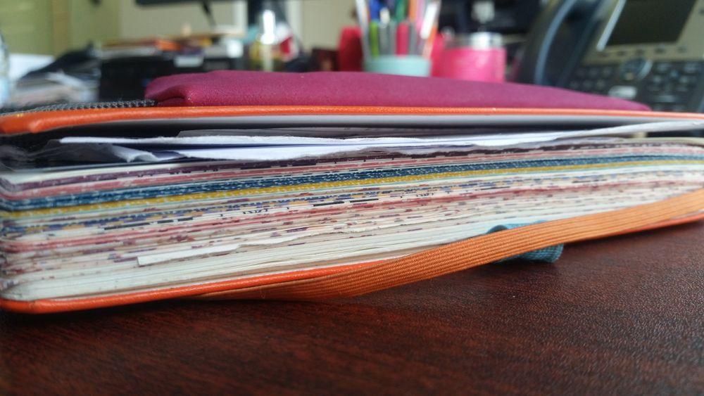 Bullet Journal avec washi tape